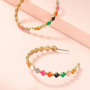 Multi-color Francis Hoops by Stella & Dot